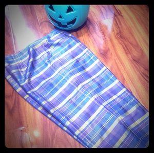Sunny leigh plaid pants